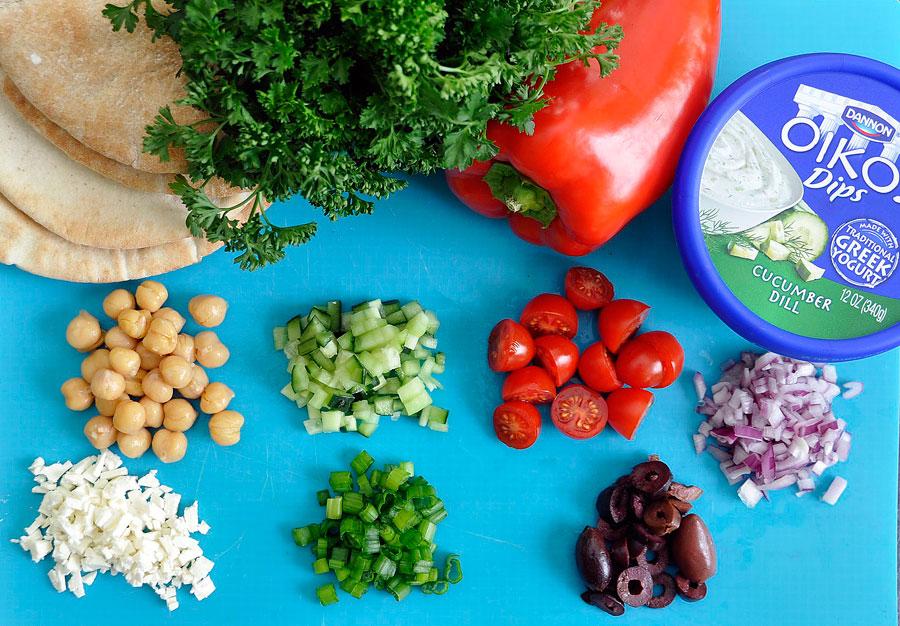 Greek Nachos Ingredients