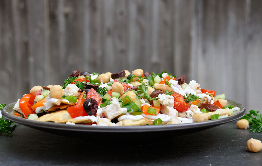 Greek Style Nachos Recipes — Dishmaps