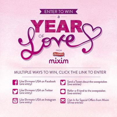 Mixim Year of Love