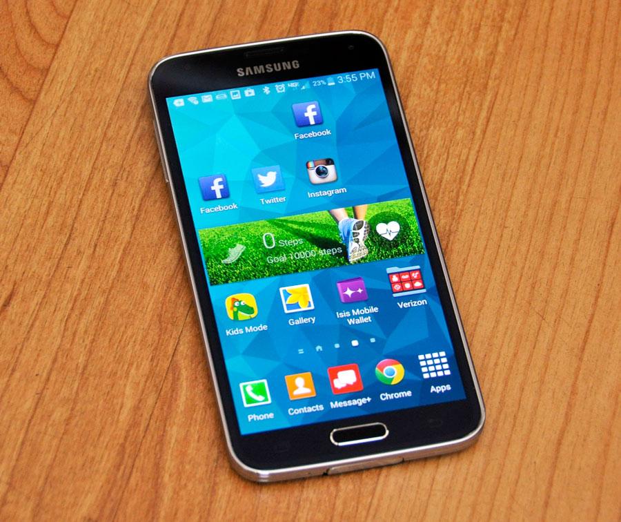 Galaxy S5 App Store