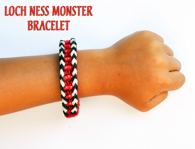 Loch Ness Monster Bracelet Tutorial