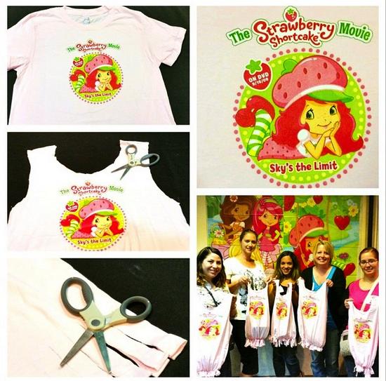 Strawberry Shortcake T-Shirt Bag