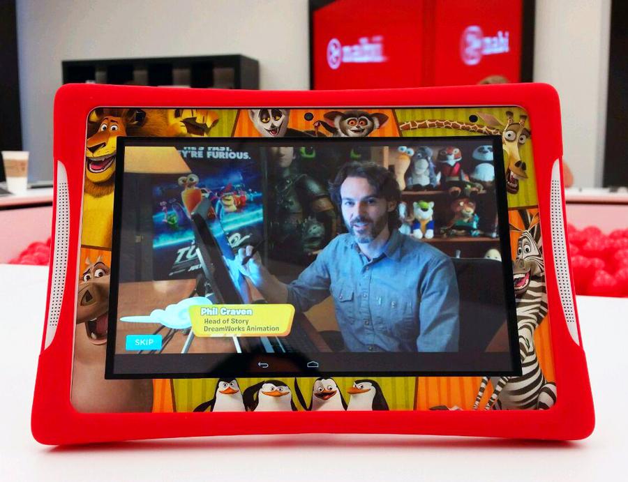 Nabi tablet support