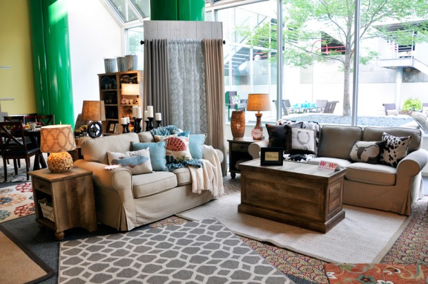 5 things you can do right now to change the look and feel Better homes and gardens living room ideas
