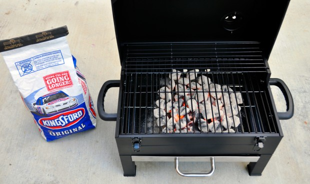 Kingsford Grill and Briquets