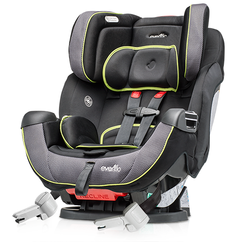 evenflo procomfort symphony dlx car seat eliminates need for booster and infant seats. Black Bedroom Furniture Sets. Home Design Ideas