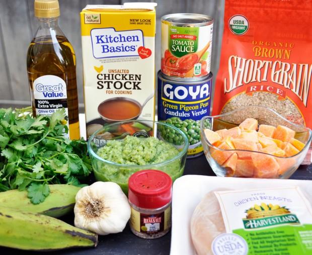 Puerto Rican Soup Ingredients