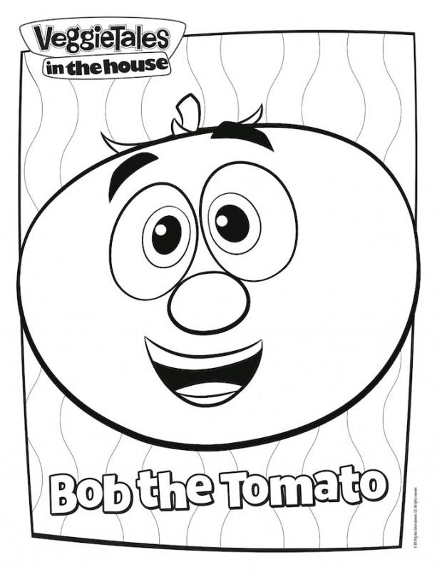 bob coloring page save bob coloring page veggietales recipes