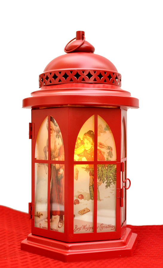 Diy Vintage Christmas Lantern Rockin Mama