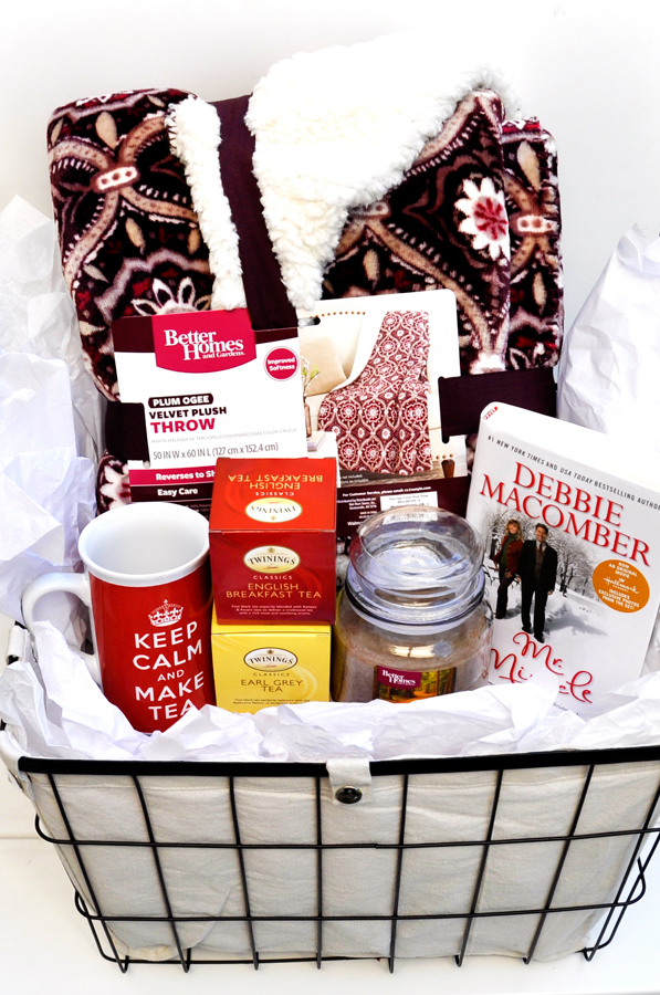 Winter Warm-Up Gift Basket