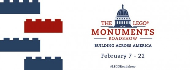 The LEGO Monuments Roadshow