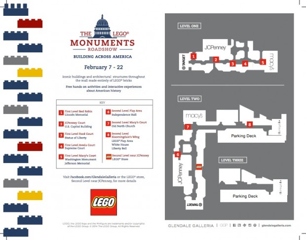 The LEGO Monuments Roadshow Map