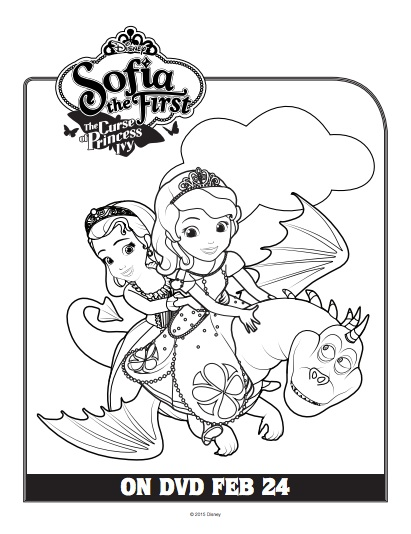 Sofia The First Princess Ivy Coloring Pages  Coloring Pages Ideas