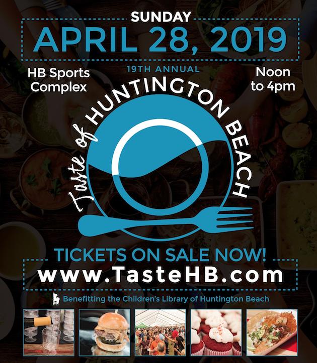 Taste of Huntington Beach Flyer