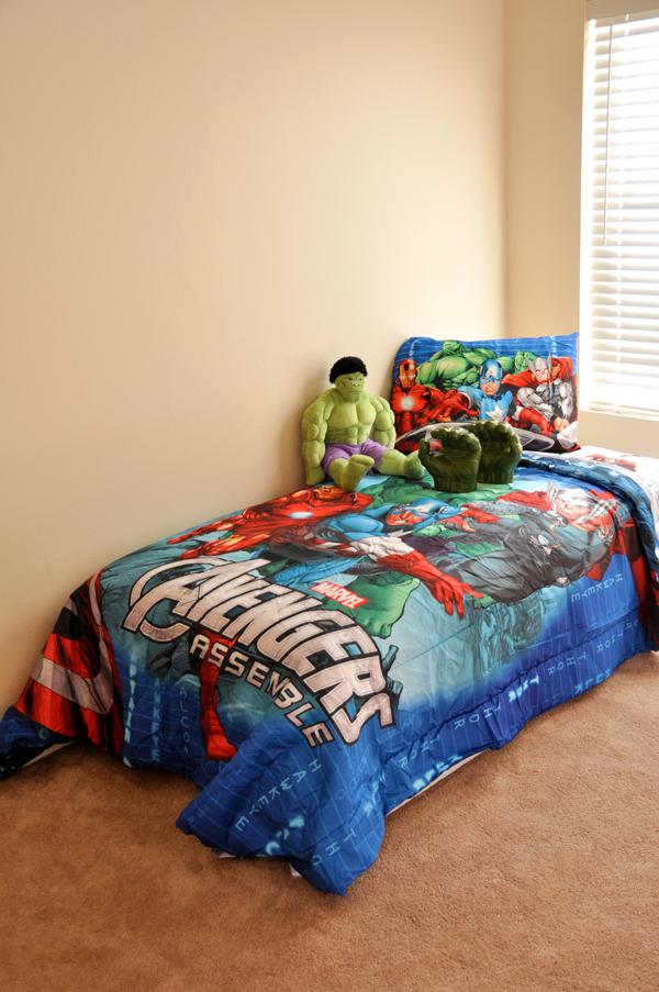 Kids 39 bedroom style avengers age of ultron rockin mama - Avengers bedroom ...