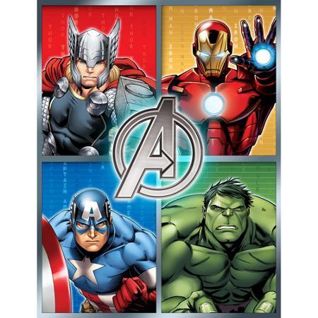 Stunning Avengers Plush Microfiber Throw