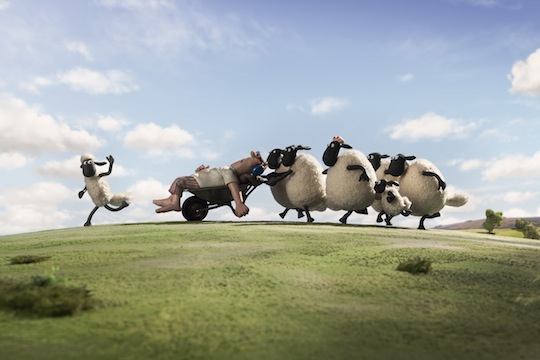 shaun the sheep movie - Shaun The Sheep Coloring Pages