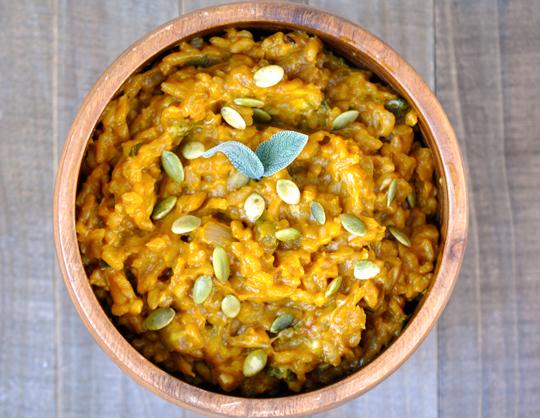 Pumpkin Risotto Recipe