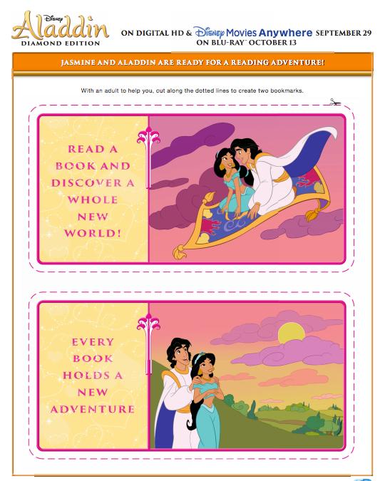 Aladdin Bookmarks