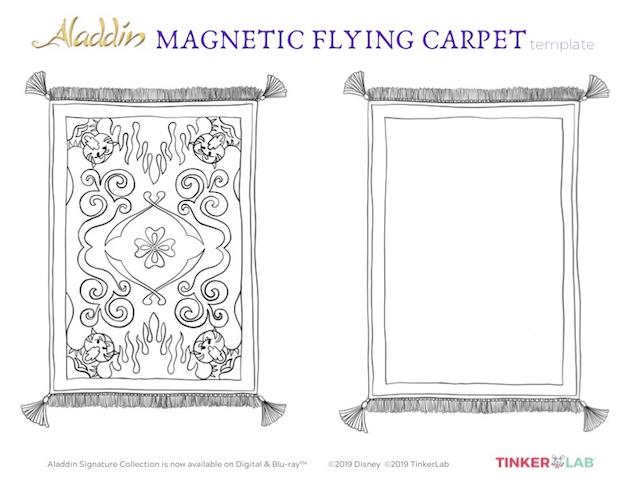 Aladdin Flying Carpet Activity