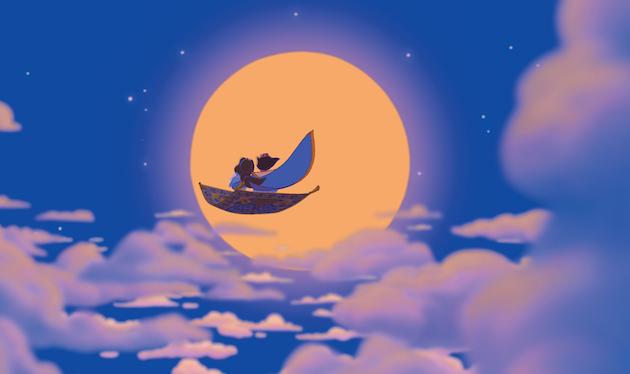 Aladdin Jasmine Moon