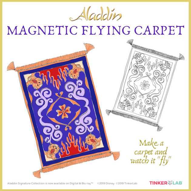 DIY Aladdin Flying Carpet