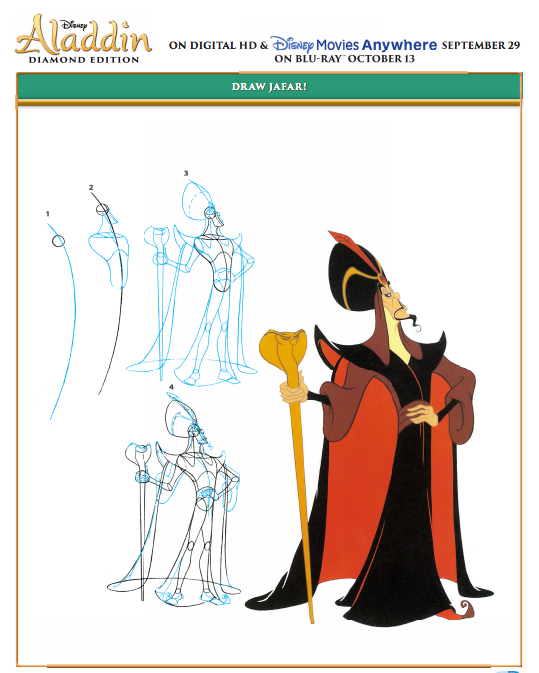 How to Draw Jafar