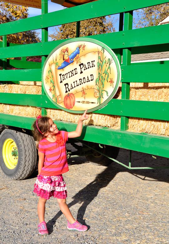 Irvine Park Railroad Tractor