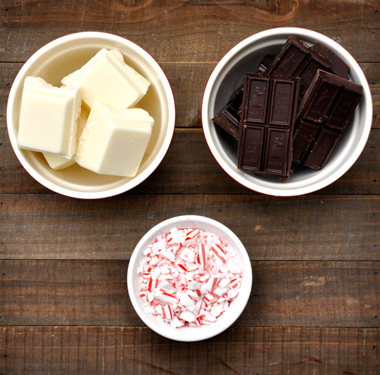 Candy Cane Bark Ingredients