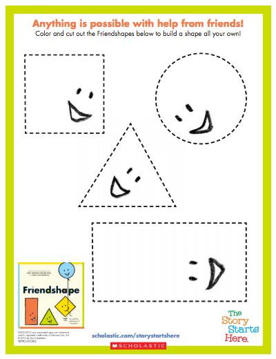 Friendshape Activity Sheet