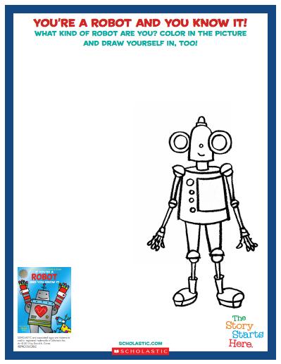 If You're a Robot Activity Sheet