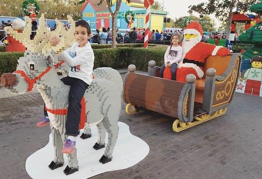 LEGO Santa and Reindeer