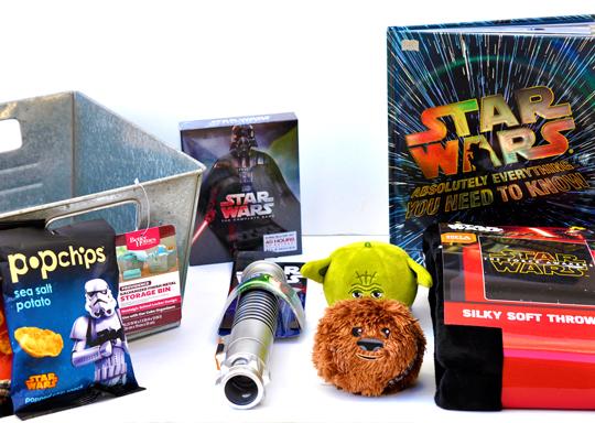 Star Wars Gifts  sc 1 st  Rockin Mama & Star Wars Gift Basket