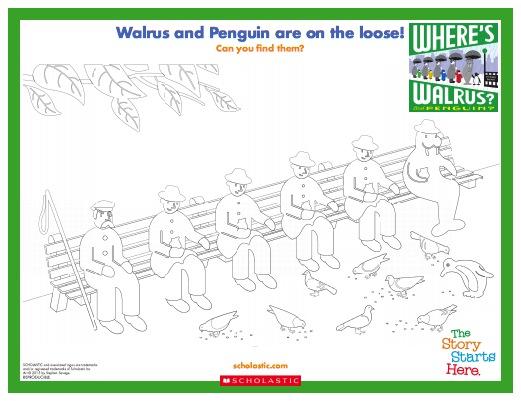Walrus and Penguin Activity Sheet