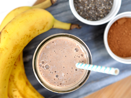 Tropical Smoothie Cafe Menu Nutrition Chia Banana