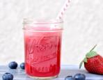 Blueberry Strawberry Coconut Juice