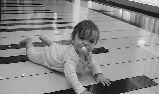 Child at FAO Schwarz