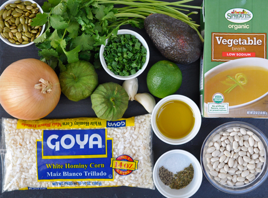 Posole Ingredients
