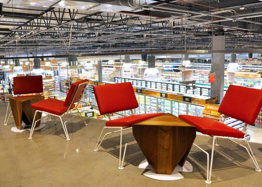 Mezzanine at Whole Foods Brea
