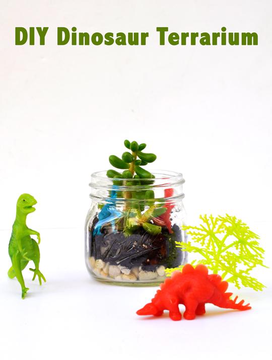 DIY Dinosaur Terrarium