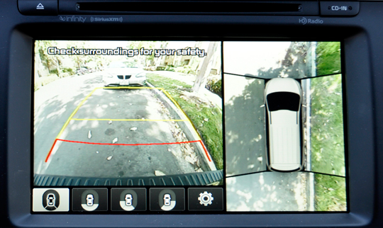 Kia Sedona Rearview Camera