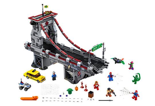 Spider-Man Web Warriors Ultimate Bridge Battle by LEGO