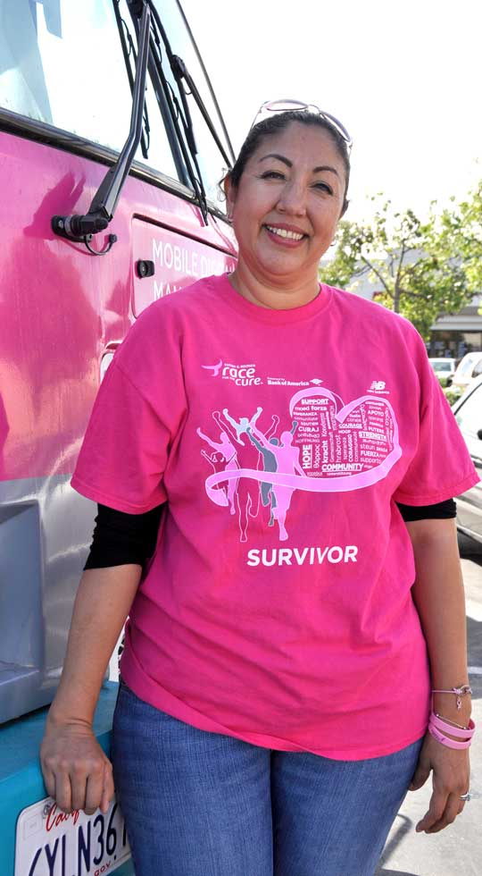breast cancer survivor mammograms save lives