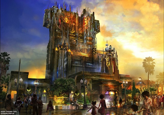 Guardians of the Galaxy Mission Breakout Replaces Twilight Zone Tower of Terror