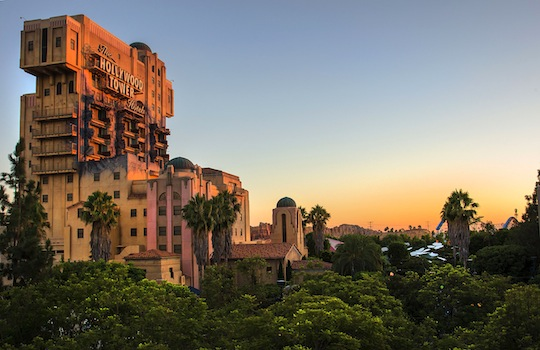 Hollywood Land DCA - Twilight Zone Tower of Terror
