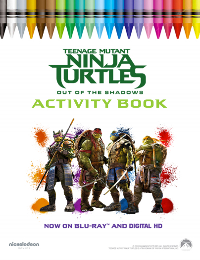 New TMNT Coloring Pages - GetColoringPages.com | 526x404