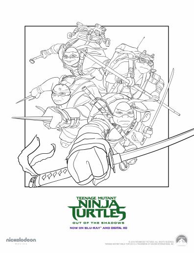 shredder tmnt coloring page - Google Search | Tortugas ninjas ... | 519x396