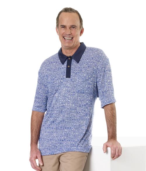 Adaptive Polo Shirt - Gift Ideas for Caregivers