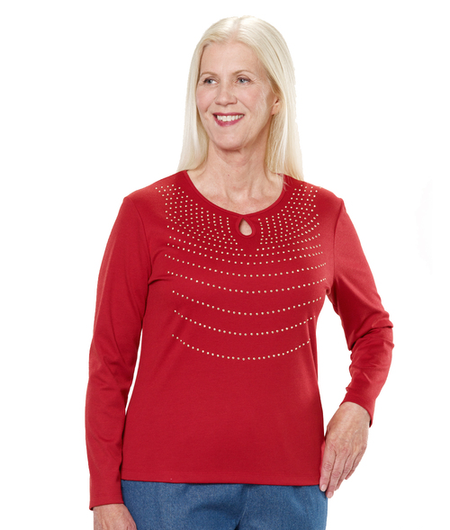 Keyhole Blouse - Gift Ideas for Caregivers