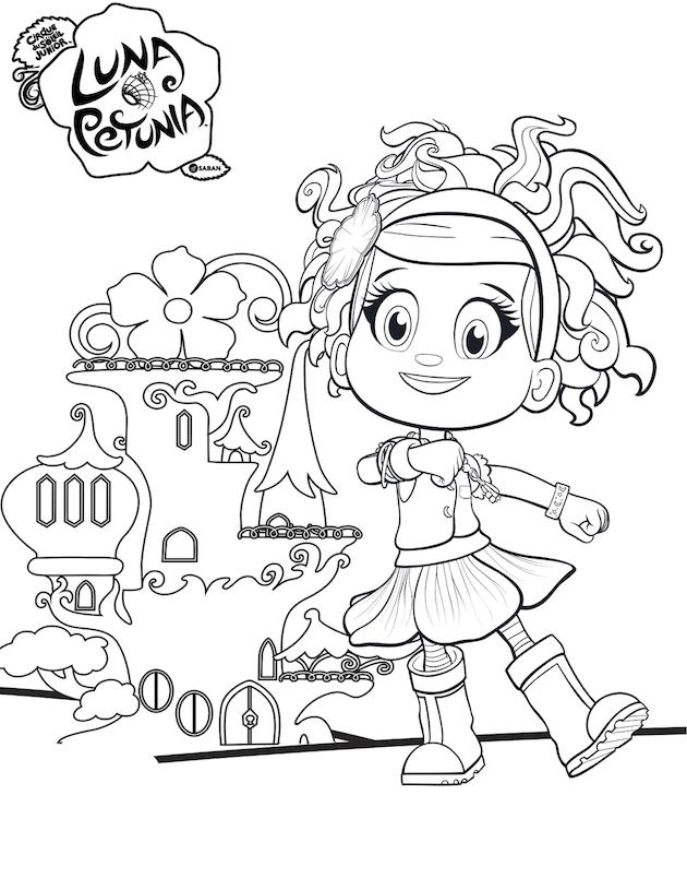 luna petunia coloring pages Luna Petunia Debuts on Netflix + Free Printables luna petunia coloring pages